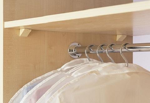 Продольная штанга для шкафа